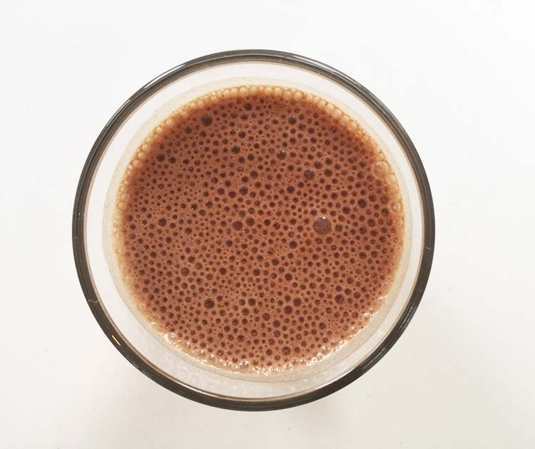 Banana Peanut Butter Cocoa Smoothie