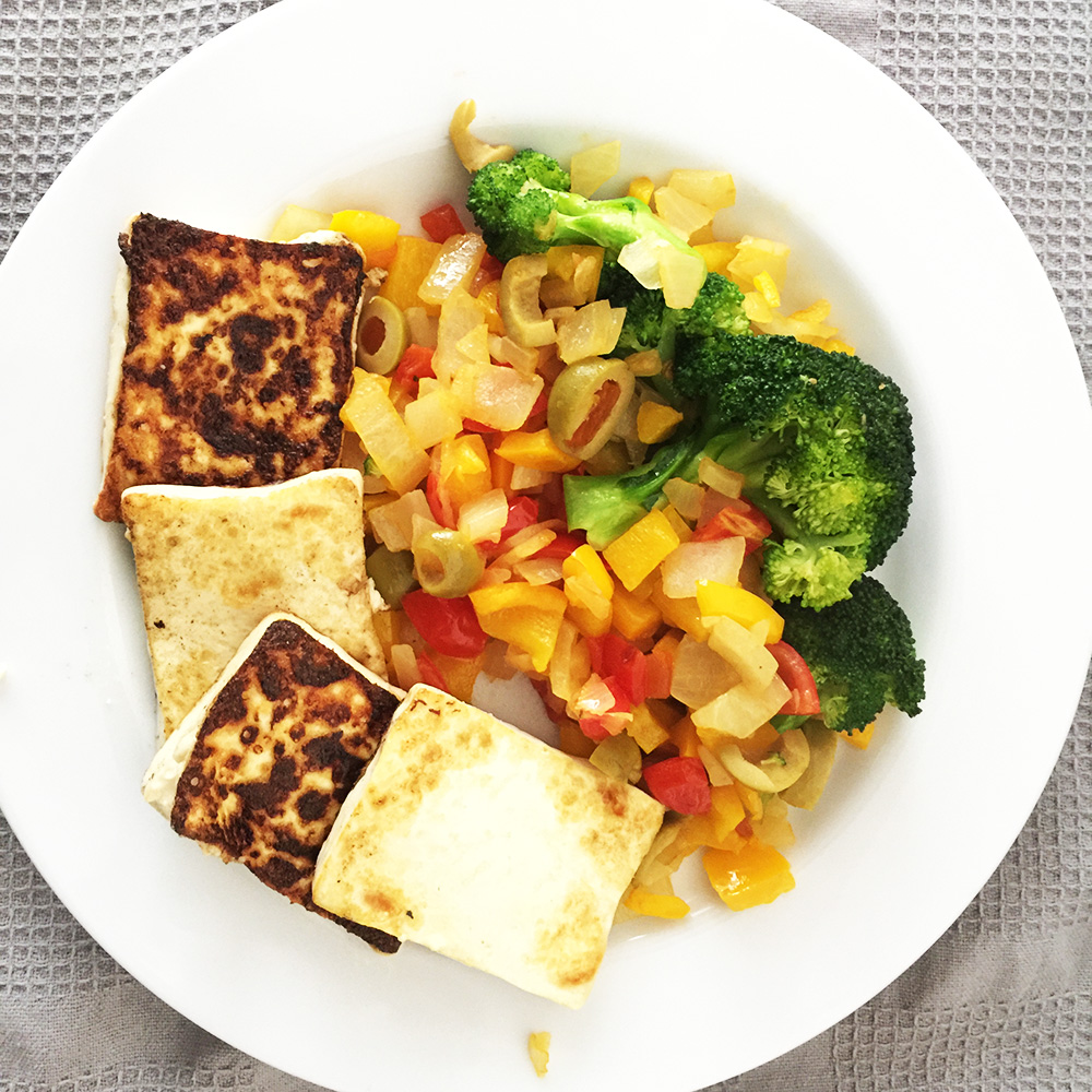 Colourful Tofu Platter
