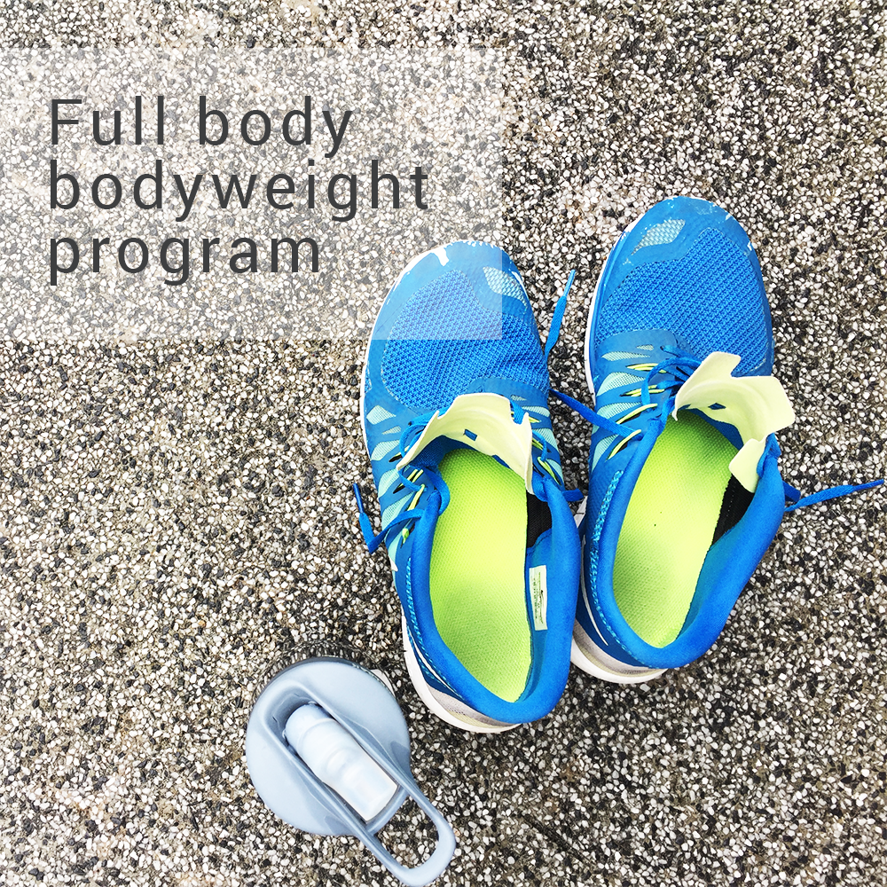 Full Body Bodyweight Program