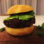 Black Bean Vegan Burger