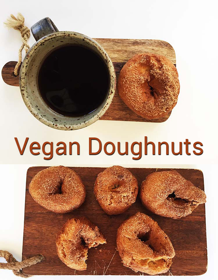 What could be better than doughnuts? Vegan doughnuts of course! This recipe will provide you with some delicious doughnuts that are crispy on the outside and sweet and tangy on the inside.