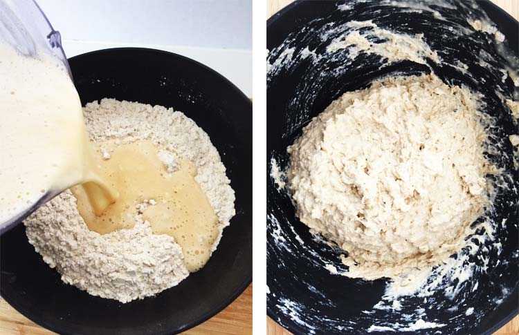 High Protein Bread - Dough Mixing
