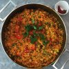 Vegan Brown Rice Paella